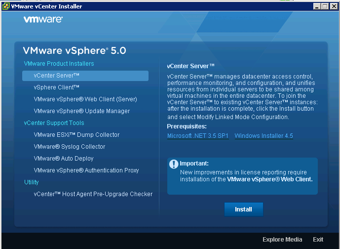 vcenter installer VCAP5 DCA Objective 6.1 – Configure, Manage, and Analyze vSphere Log Files