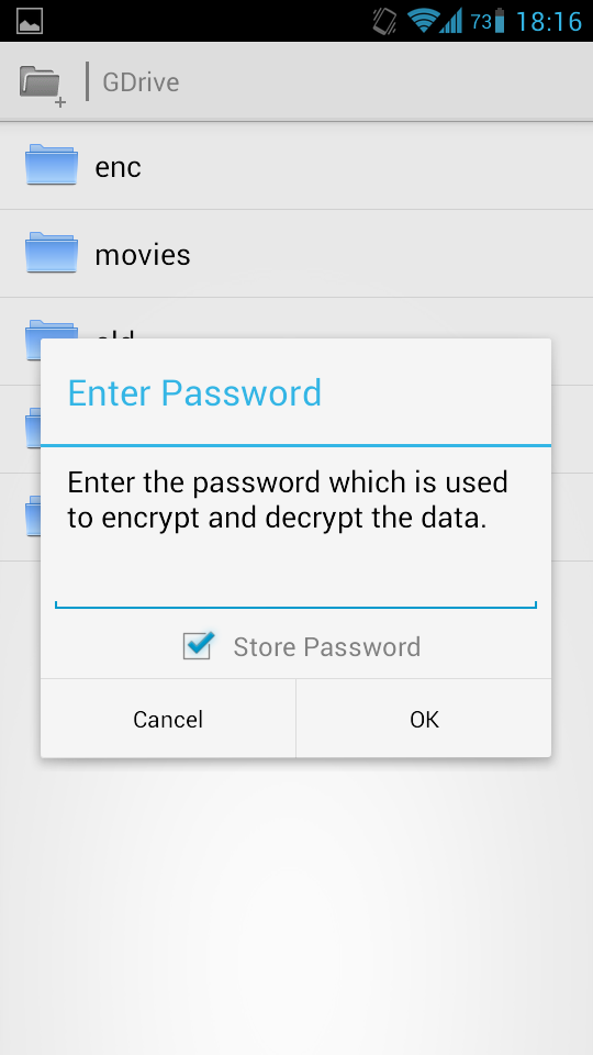 bx crypt enter pass Sharing a File Encrypted by EncFS with Android and Linux Systems with Google Drive