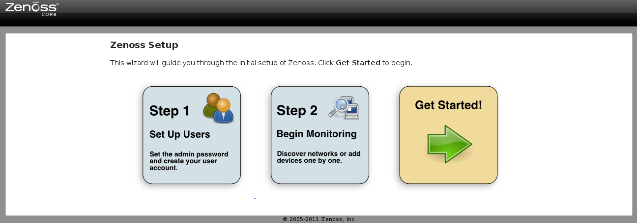 setup page zenoss Monitor Different Systems with Zenoss