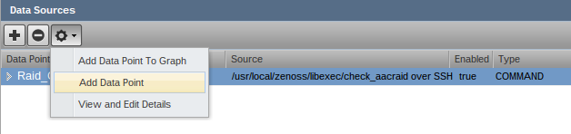 zenoss add data point button g Monitor Different Systems with Zenoss