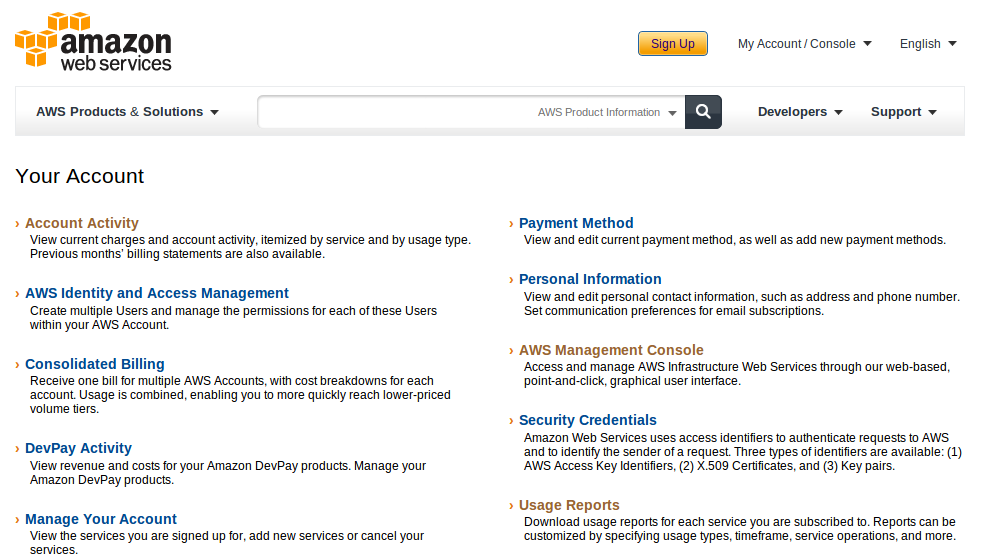 aws account Deploy an Amazon EC2 instance in the Free Usage Tier