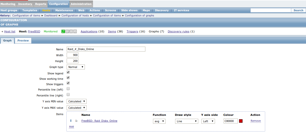 zabbix graph raid disks Monitor Different Systems with Zabbix