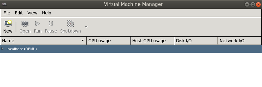 connected virt manager Deploying a Test Windows Environment in a KVM Infrastucture