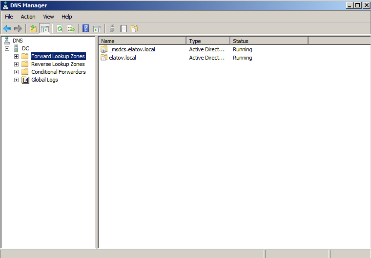 dnsmgmt started Deploying a Test Windows Environment in a KVM Infrastucture