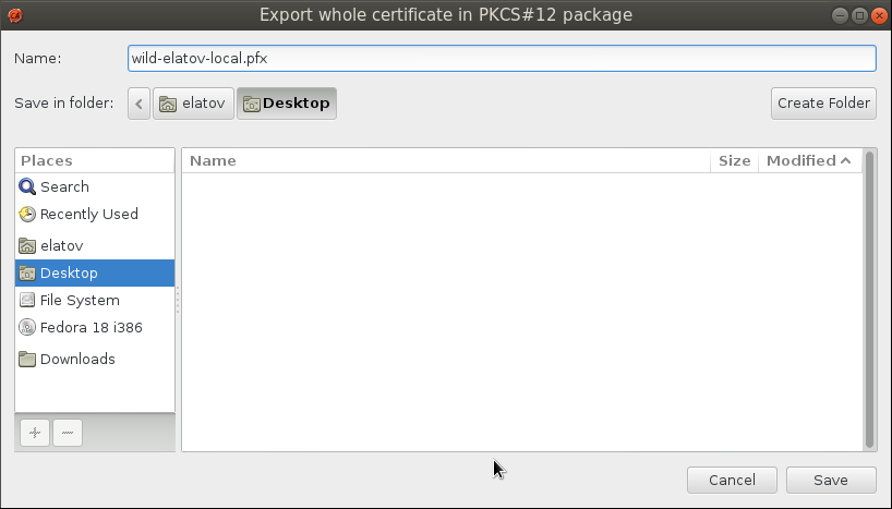 gnomint export save diag Setup Your Own Certificate Authority (CA) on Linux and Use it in a Windows Environment