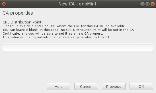 gnomint crl dist point Setup Your Own Certificate Authority (CA) on Linux and Use it in a Windows Environment