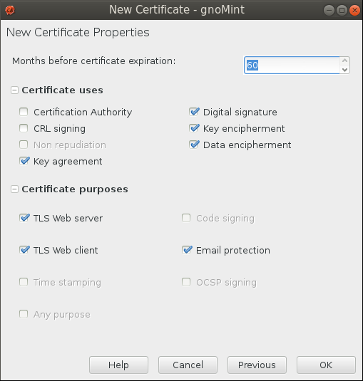 gnomint sign csr uses Setup Your Own Certificate Authority (CA) on Linux and Use it in a Windows Environment