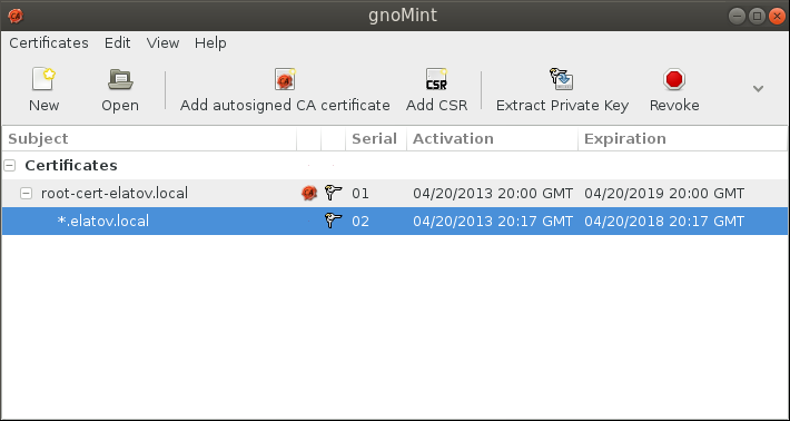 gnomint signed cert Setup Your Own Certificate Authority (CA) on Linux and Use it in a Windows Environment