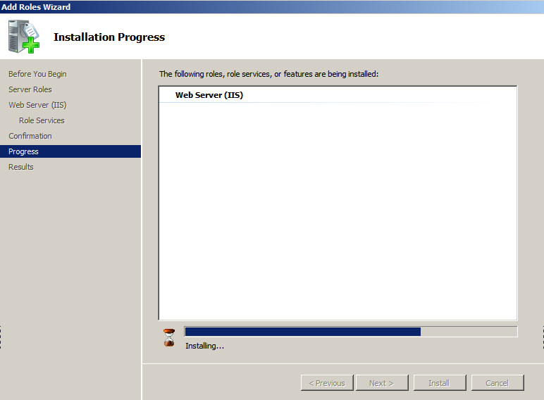 iis installing Deploying a Test Windows Environment in a KVM Infrastucture