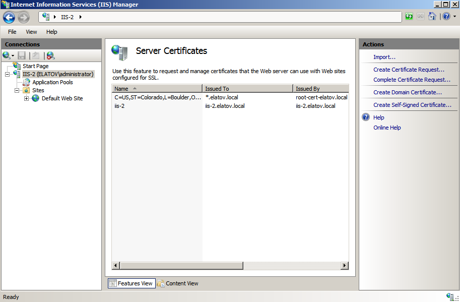 inetmer new cert imported Setup Your Own Certificate Authority (CA) on Linux and Use it in a Windows Environment