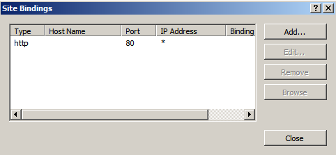 inetmgr site bindings Deploying a Test Windows Environment in a KVM Infrastucture