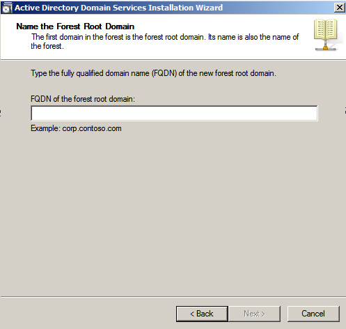 name forest room domain ad wizard Deploying a Test Windows Environment in a KVM Infrastucture