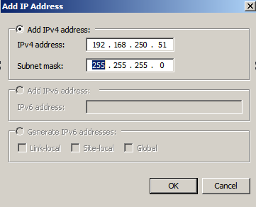 nlbmgr add ip ad Load Balancing IIS Sites with NLB