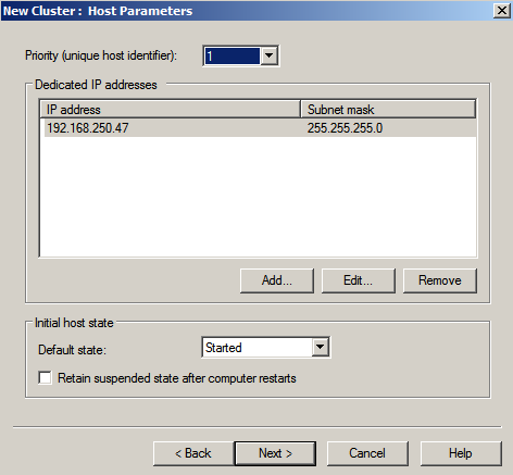nlbmgr host params Load Balancing IIS Sites with NLB