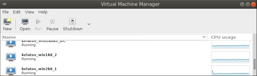 remote virt manager Deploying a Test Windows Environment in a KVM Infrastucture