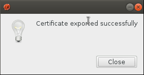 successful export Setup Your Own Certificate Authority (CA) on Linux and Use it in a Windows Environment