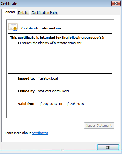 trusted ssl cert Setup Your Own Certificate Authority (CA) on Linux and Use it in a Windows Environment