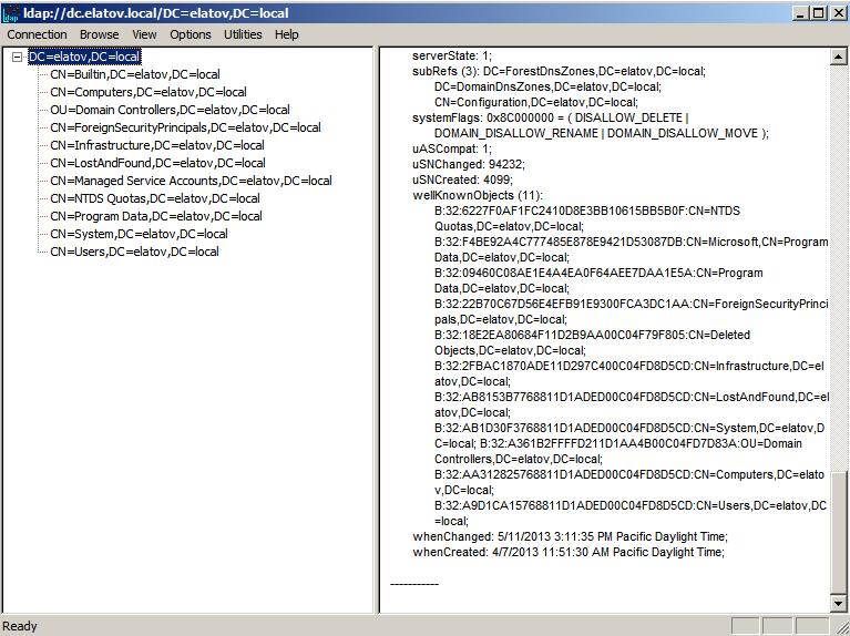 children AD server Enabling LDAPS on Windows 2008 Active Directory Server