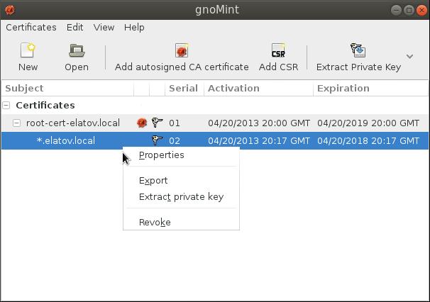 gnomint props cert Enabling LDAPS on Windows 2008 Active Directory Server