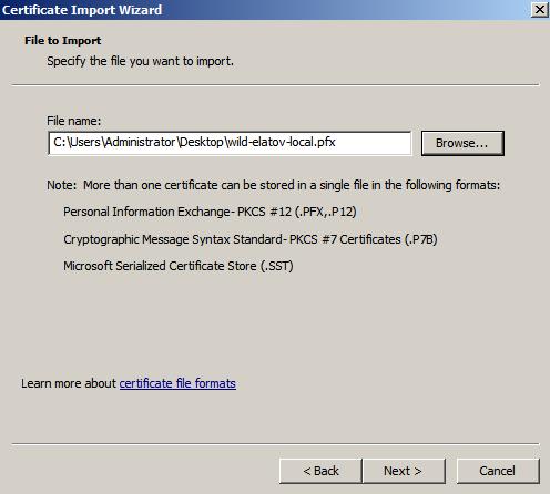 import cert Enabling LDAPS on Windows 2008 Active Directory Server