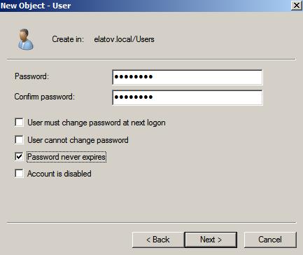 set password Enabling LDAPS on Windows 2008 Active Directory Server