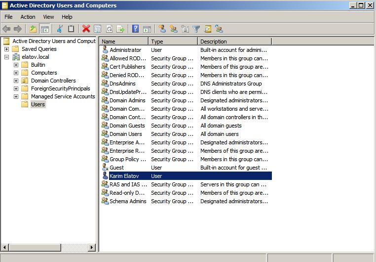 user added dsa Enabling LDAPS on Windows 2008 Active Directory Server