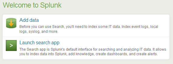 launch search app Install Splunk and Send Logs to Splunk with Rsyslog over TCP with SSL