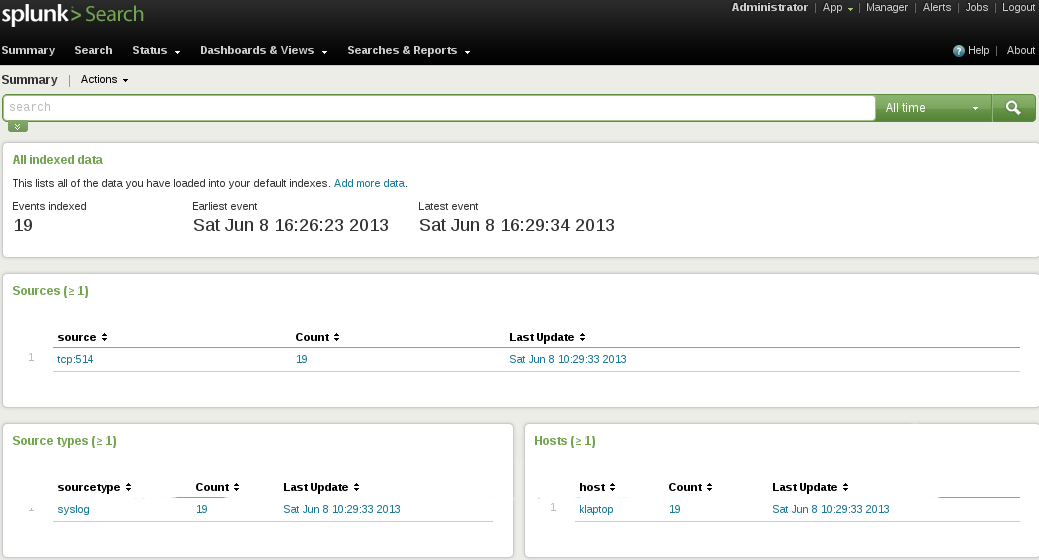 logs getting to splunk g Install Splunk and Send Logs to Splunk with Rsyslog over TCP with SSL