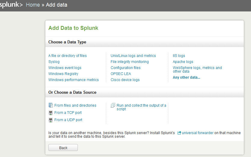 splunk add data Install Splunk and Send Logs to Splunk with Rsyslog over TCP with SSL