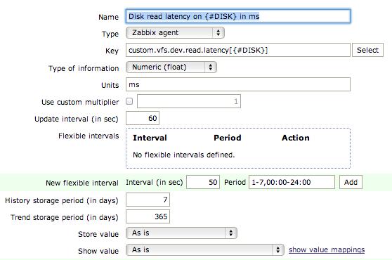 zab item prototype later Monitor Disk IO Stats with Zabbix