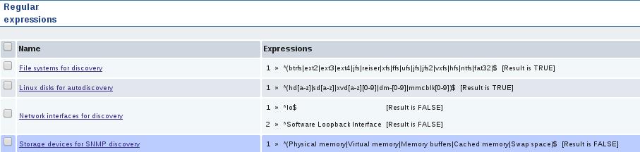 zabbiz reg expression list Monitor Disk IO Stats with Zabbix