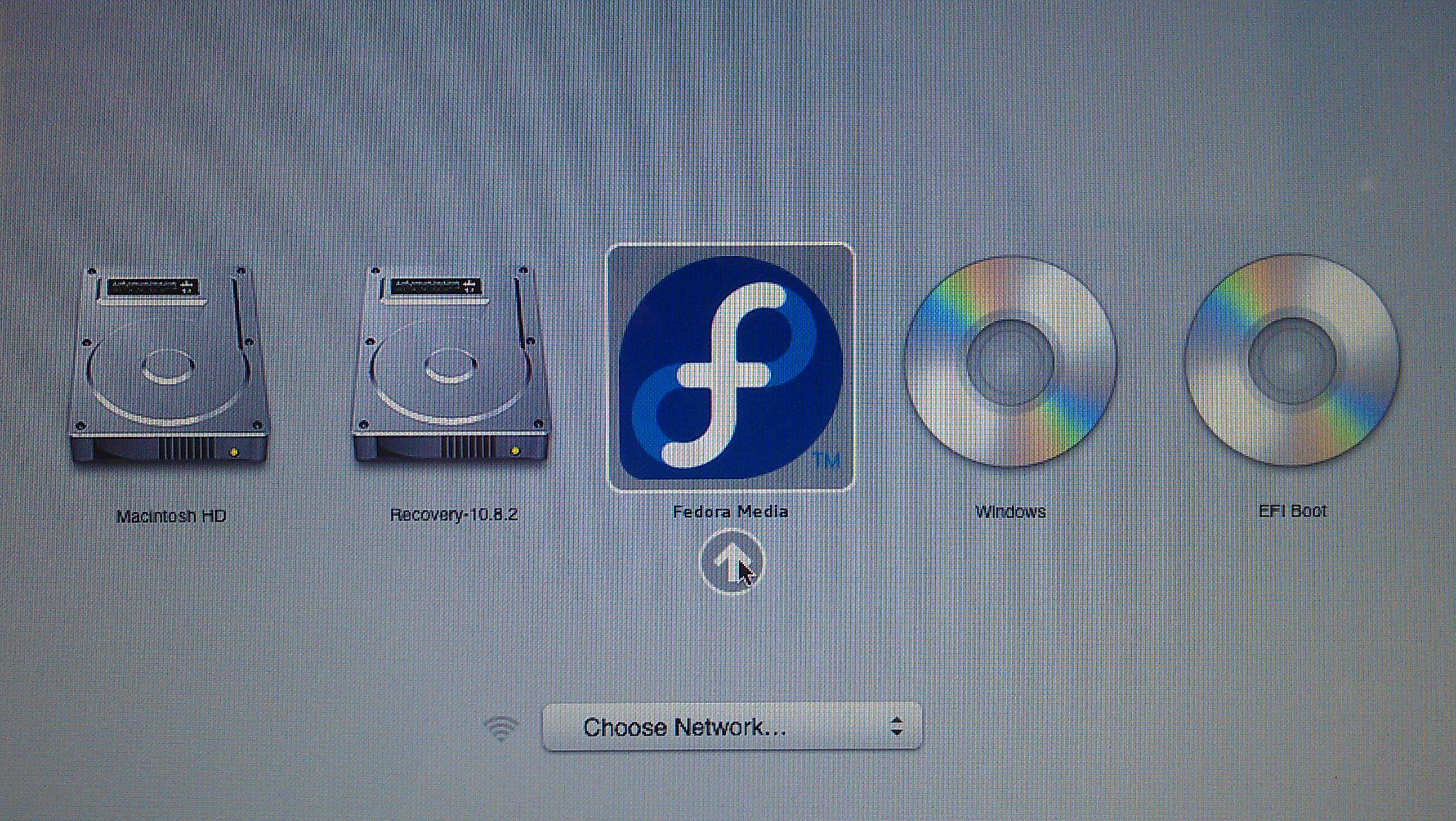 MAC BOOT MEDIA Install Fedora 19 on Mac Book Pro