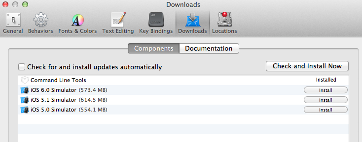 xcode command line tools Mount Various File Systems with Autofs on Mac OS X Mountain Lion