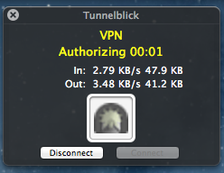 tnlk authorizing Connecting to an OpenVPN Server with Various Clients