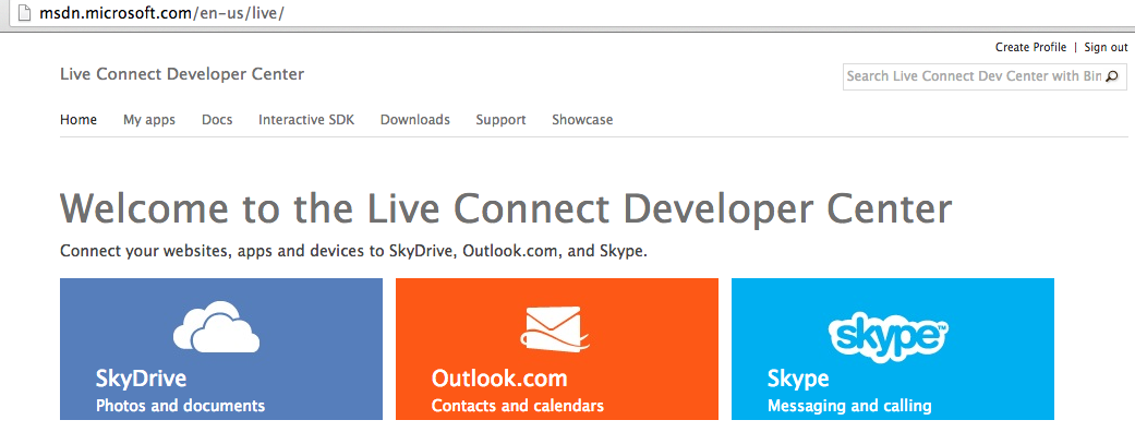 Live connect dev center Syncing Files with Various Cloud Storage Solutions