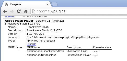 chromium flash Update ChrUbuntu 13.04 to 13.10 on the Samsung Chromebook