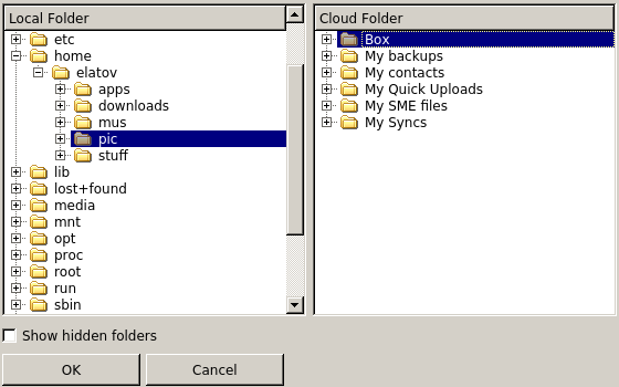 link folder sme Syncing Files with Various Cloud Storage Solutions