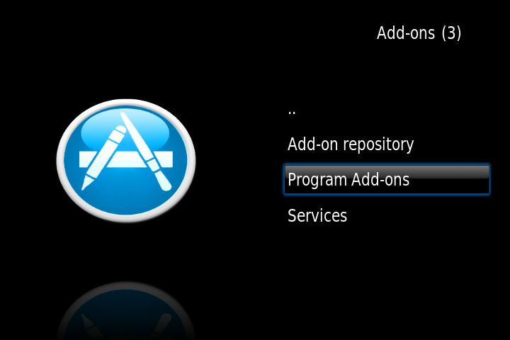 program addons from unof repo OpenELEC on Raspberry Pi
