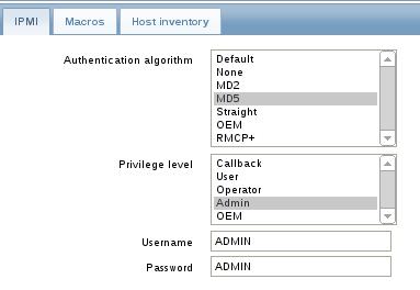 ipmi tab zabbix Configure IPMI On SuperMicro Server and Monitor IPMI Sensors with Zabbix