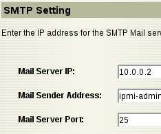 smtp settings impi Configure IPMI On SuperMicro Server and Monitor IPMI Sensors with Zabbix
