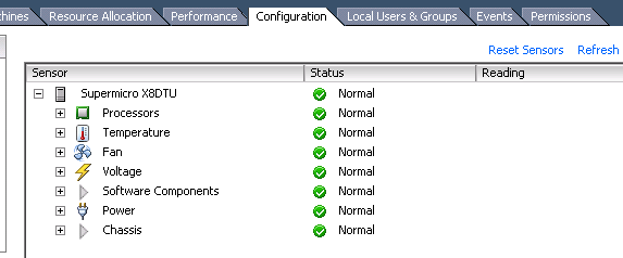 cim sensors esxi Installing LSI CIM Providers for MegaRaid 8704ELP Local Controller on ESXi 5.0