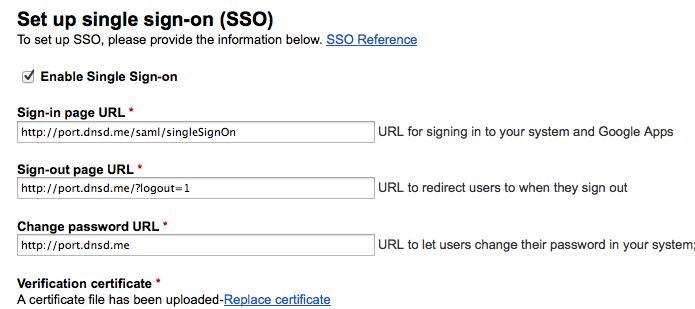 gapps sso settings LemonLDAP NG With LDAP and SAML Google Apps