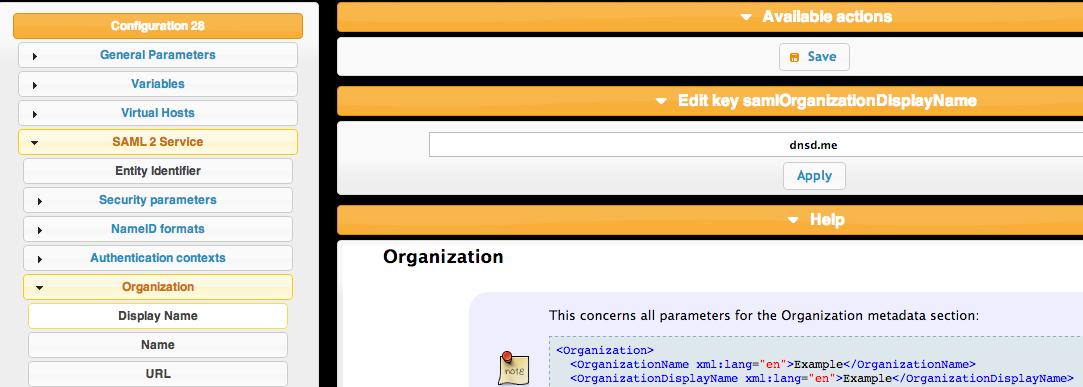 lemon ldap org name 1024x365 LemonLDAP NG With LDAP and SAML Google Apps