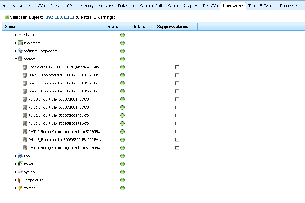 veeam hw monitor Installing LSI CIM Providers for MegaRaid 8704ELP Local Controller on ESXi 5.0