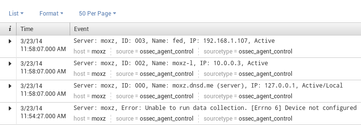 active clients ossec splunk OSSEC on FreeBSD