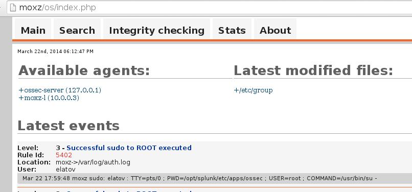 ossec web ui OSSEC on FreeBSD