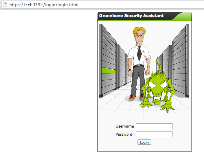 greenbone assistant OpenVAS on CentOS