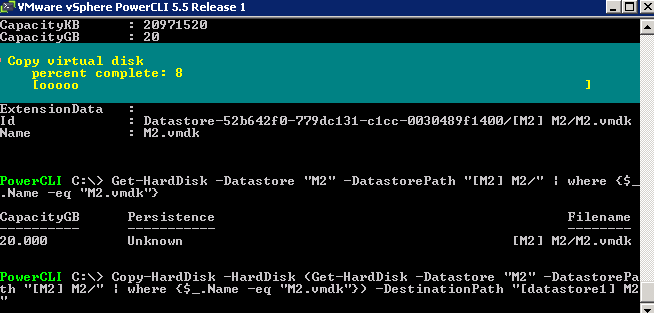 powecli copy command ESXi on MacMini 6,2