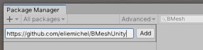 Pasting this repos' URL