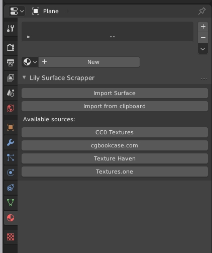 Add-on loaded in the User Preferences